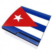 DecalGirl PS3S-FLAG-CUBA PS3 Slim Skin - Cuban Flag