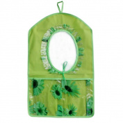 Blancho Bedding BN-WH028 Flowers Mirror Green/Wall Hanging/ Wall Organizers / Wall Baskets / Baskets