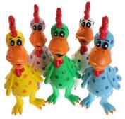 MultiPet Latex Chicken Globken Dog toy Assorted