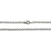 Jewellery Designer Slimpack Silver Metal Chain-46cm Large Link Chain