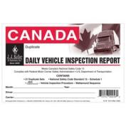 J.J. Keller 31B Canadian Drivers Vehicle Inspection Report