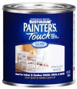 Rustoleum .50 Pint Semi Gloss White Painters Touch Multi-Purpose Pain 1993-730