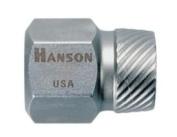 Hanson HAN53208 1.843.3cm . Hex Head Multi-Spline Screw Extractor