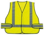 Sperian Protection Americas Green Vest With Reflective Strips RWS-50004