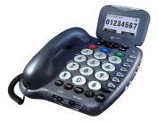 Sonic Alert Ampli455 Answering machine talking id and keys digital 40db