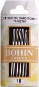 Bohin 008-830 Tapestry Hand Needles -Size 18 6-Pkg