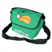 Blancho Bedding MB-AG-GREEN Angry Birds - Green Multi-Purposes Messenger Bag / Shoulder Bag