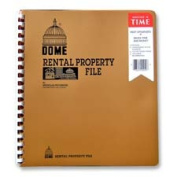 Dome Publishing Company- Inc. DOM920 Rental Property File- w- Inside Pockets- Not Dated- 9-.75in.x11in.