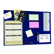 STEELMASTER Soho Collection 270162408 Magnetic Board 14 in. x 24 in. - Blue