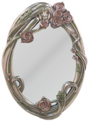 Unicorn Studios AN10499A4 Rose Girl Face Mirror