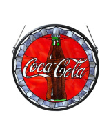 Meyda 106225 Coca-Cola Bottle Cap Medallion Window