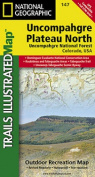 National Geographic Maps TI00000147 Uncompahgre Plateau North Map
