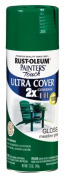 Rustoleum 249100 350ml Meadow Green Gloss Painters Touch 2X Ultra Cover Spray - Pack of 6