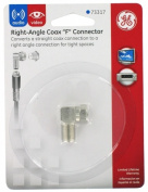 Jasco Products Right Angle Coax F Connector 73317