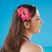 Tropical Sun 206797 Hibiscus Hair Clip - Assorted