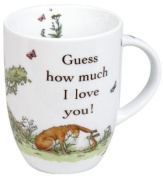 Konitz 4451031781 Set of 4 Mugs Guess how much I love you! Giftboxed