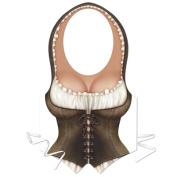 Beistle 66167 Plastic Maiden Vest - Pack of 24