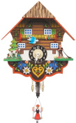 Alexander Taron 193SP Girl with Swing Chalet Wall Clock