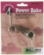Maxpower Precision Parts 2 Pack Power Rake Replacement Springs 330105