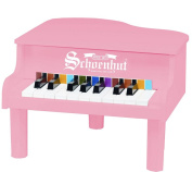 Schoenhut 18-Key Mini Baby Grand - Pink