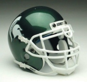 Schutts Sports Michigan State Spartans NCAA Mini Helmet