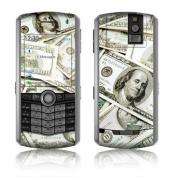 DecalGirl BBP-BEN BlackBerry Pearl Skin - Benjamins