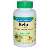 Natures Answer 0124016 Kelp Thallus - 100 Capsules