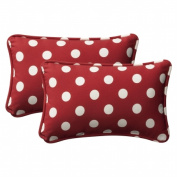 Pillow Perfect Inc. 386713 Pillow Perfect -Red/White