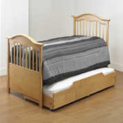 Orbelle Trading TB480-N 39.5 H x 45.25 W x 78 D Twin Bed - Natural