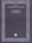 Alfred 00-EP9607 Canon in D - Music Book
