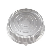 EMI Yoshi EMI-380LP 45.7cm . Round Clear Dome Lid - Pet - Pack of 25
