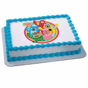 Deco Pac 206556 Yo Gabba Gabba - Dancey Dance Edible Icing Cake Topper