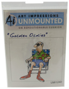 Art Impressions I1240 Art Impressions Golden Oldies Cling Rubber Stamp-Norm