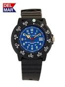 Del Mar 50277 Womens Dive 200 Blue Dial PU Watch