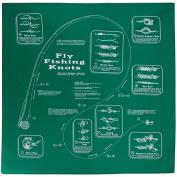 The Printed Image 104111 Fly Fishing Knots Bandana