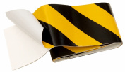 Hy-ko TAPE-1 5.1cm . Black & Yellow Reflective Safety Tape - Pack of 5