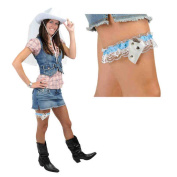 Beistle 66632 Western Bride's Garter - Pack of 12