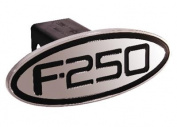 Defenderworx 60253 Ford - F-250 - Black - Oval - 5.1cm . Billet Hitch Cover