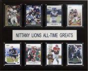 C & I Collectables 1215ATGPST NCAA Football Penn State Nittany Lions All-Time Greats Plaque