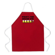 Attitude Apron Recipe for Beer Apron, Red, One Size Fits Most