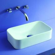 Kraus KCV-122 rectangular white ceramic sink