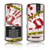 DecalGirl BBP-CRIME-REV BlackBerry Pearl Skin - Crime Scene Revisited