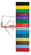 Gared Sports CE-PR Glue-On Backboard Padding - Grey