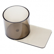 Brybelly Holdings GCUP-201 Small Plastic Smoke Coloured Slide In Cup Holder