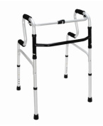 BRIGGS HEALTHCARE 500-1525-0600 HealthSmart Sit-to-Stand Walker Silver- Black