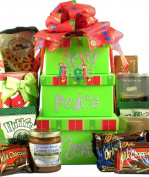 Gift Basket Village JoPeNo Joy Peace Noel Holiday Gift Tower