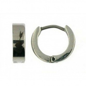 Doma Jewellery DJS00887 Stainless Steel Huggy Earring