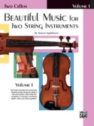Alfred 00-EL02201 Beautiful Music for Two String Instruments- Book I - Music Book
