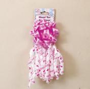 Rite Lite MT-13801-G Mazel Tov Baby Girl Decorative Bows - 2 Styles Per Card
