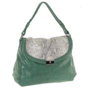 Buxton FDL11021.GR.BX Jasmine Collection Leather Handbag - Green
